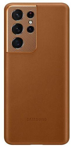cumpără Husă pentru smartphone Samsung EF-VG998 Leather Cover Brown în Chișinău