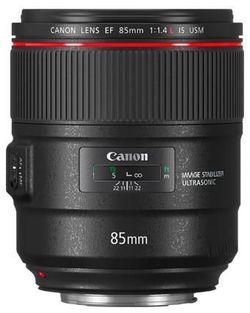 cumpără Obiectiv Canon EF 85 mm f/1.4 L IS USM (2271C005) în Chișinău