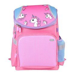 """Ghiozdan pentru școală """"Unicorn"""" Upixel I roz"""