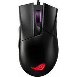 Игровая мышь Asus ROG Gladius II Core, оптическая, 200-6200 dpi, 6 кнопок, эргономичная, RGB, USB