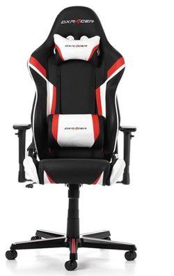 купить Gaming кресло DXRacer Racing GC-R288-NRW-Z1, Black/Red/White в Кишинёве