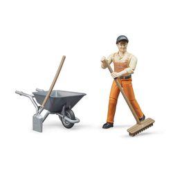 Lucrător în figurină al serviciului rutier cu unelte, cod 42310