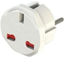 купить Адаптер электрический Horoz 72145 Переходник с Евро на UK/HK 10A в Кишинёве