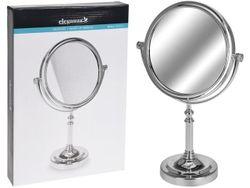 Зеркало настольное двухстороннее (1/2X), D15/19cm на ножке