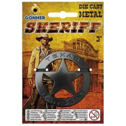 Значок шерифа металлический, код 44087