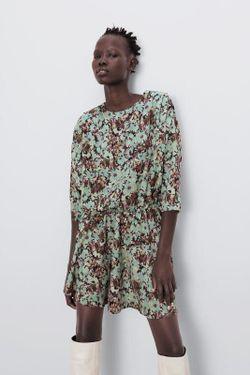 Платье ZARA Цветочный принт 8723/182/330