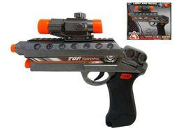 Пистолет с оптическим прицелом музыкальный 222