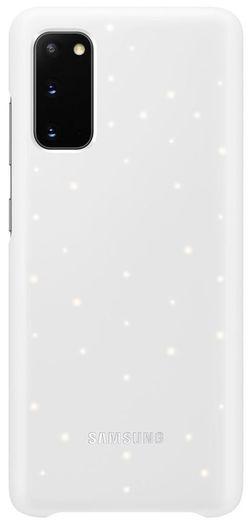 купить Чехол для смартфона Samsung EF-KG980 LED Cover White в Кишинёве