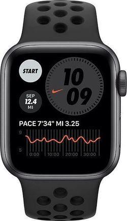 купить Смарт часы Apple Watch Nike SE GPS, 40mm Space Gray Aluminium Case (MYYF2) в Кишинёве