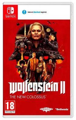 Видео игра Nintendo Wolfenstein 2 The New Colossus (Switch)