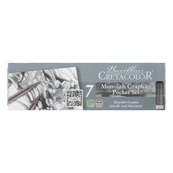 Set Monolith Graphite, 7 articole  Cretacolor