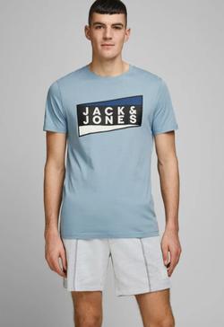 Майка JACK&JONES Голубой 12172246