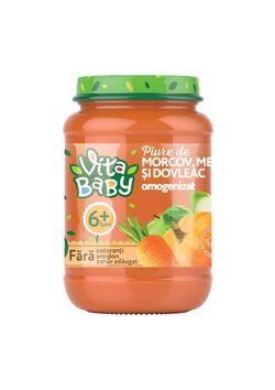 VITA Baby пюре морковь-тыква-яблоко 180 г