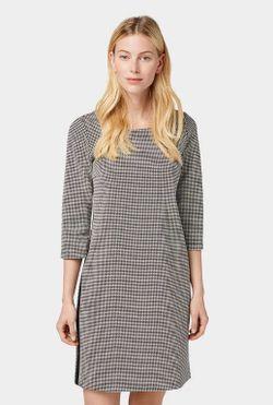 Платье Tom Tailor Черно-белый tom tailor 1013543