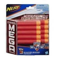 Набор из 10 стрел для бластеров Nerf, код 41863