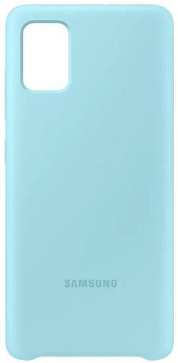 купить Чехол для смартфона Samsung EF-PA515 Galaxy-A51 Case Blue в Кишинёве