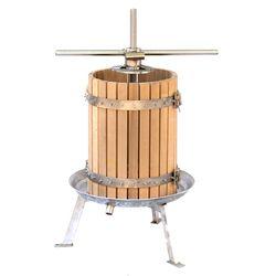 Пресс для винограда 50 л из нержавеющей стали - механический
