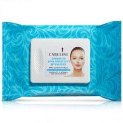 Салфетки для удаления макияжа с кожи лица и области глаз Careline 25 шт