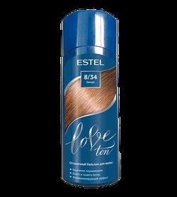 Оттеночный бальзам, ESTEL Love Ton, 150 мл., 8/34 - Бренди