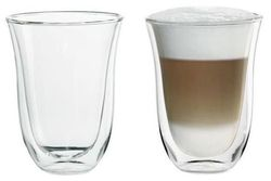 купить Стакан DeLonghi DLSC312 SET 2 Glasses LatteMacchiato 220ml в Кишинёве