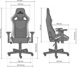 Офисное кресло Новый стиль Hexter PRO R4D Tilt MB70 Eco/01 Black/Yellow