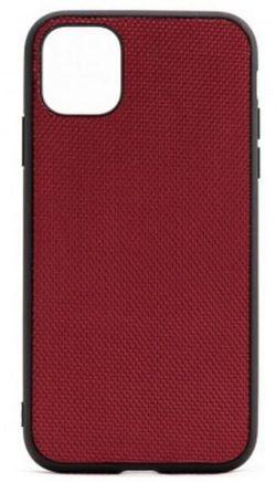 купить Чехол для смартфона Helmet iPhone 11 Red Alcantara V2 в Кишинёве
