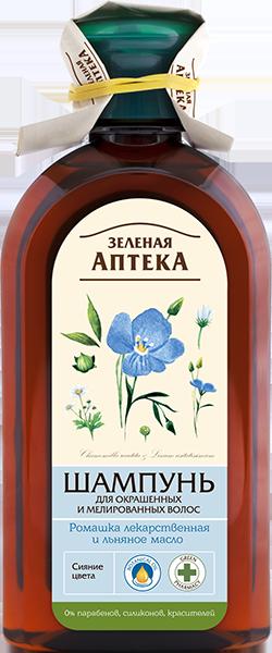 Шампунь Ромашка и Льняное масло