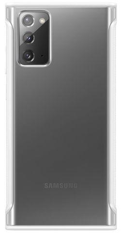 cumpără Husă telefon Samsung EF-GN980 Clear Protective Cover White în Chișinău
