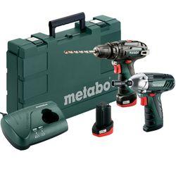 Набор аккумуляторных инструментов Metabo Combo Set 2.5 10.8V