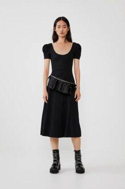 Платье ZARA Чёрный 5644/810/800