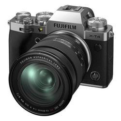 cumpără Aparat foto mirrorless FujiFilm X-T4 silver/XF16-80mm Kit în Chișinău