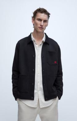 Куртка ZARA Чёрный 8369/403/800.
