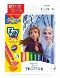 Set de carioci 12 culori - Colorino Disney Frozen