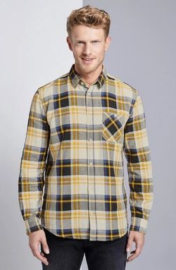 Рубашка Tom Tailor Желтый в клетку tom tailor 1015317