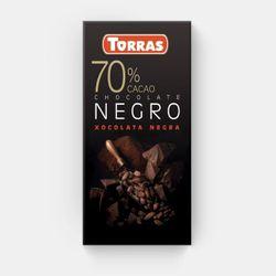 Шоколад темный 70% без глютена Torras 80г