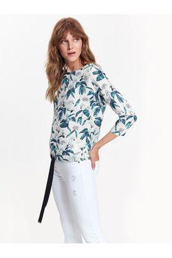 Блуза TOP SECRET Белый с принтом sbd0919