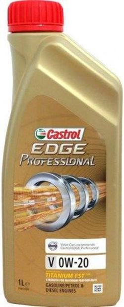 Моторное масло Castrol Edge Professional V 0W-20 1L