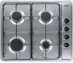 Встраиваемая газовая панель Gorenje G64X, 4 зоны приготовления