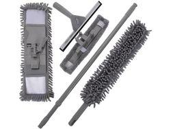 Набор для уборки 7ед(мопы для пола и окон,скребок,щетка,ручк