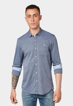 Рубашка TOM TAILOR Светло синий 1013343 tom tailor