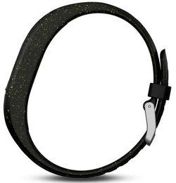 Brățară pentru fitness Garmin vivofit 4 S/M Black Speckle