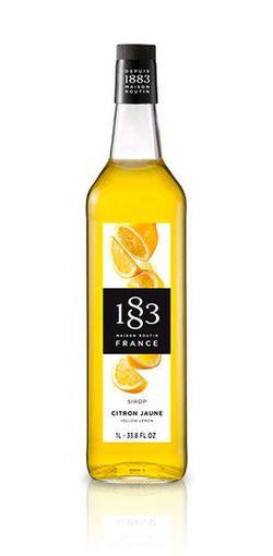 Сироп 1883dePR Желтый Лимон 1L