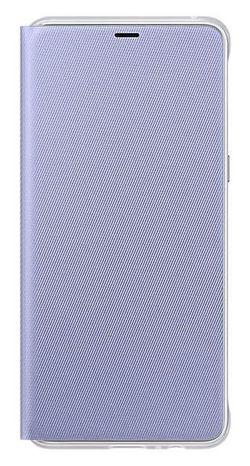 cumpără Husă telefon Samsung EF-FA730, Galaxy A8+ 2018, Neon Flip Cover, Orchid în Chișinău