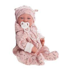 Copilă Doll cu un roz dummy 40 cm Cod 3374