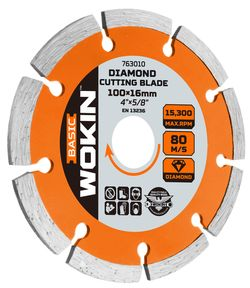 Disc segment diamant 125 * 22,2 MM Wokin