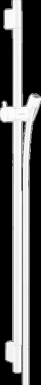 Unica Bară de duș S Puro 90 cm cu furtun de duș, alb mat