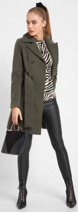Куртка ORSAY Зеленый orsay 830213
