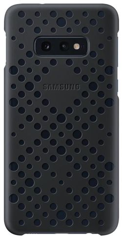купить Чехол для смартфона Samsung EF-XG970 Pattern Cover S10e Black в Кишинёве