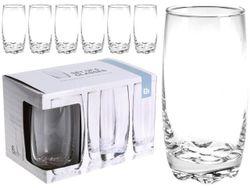 Набор стаканов EH 6 шт 375ml, D6.5cm H14cm