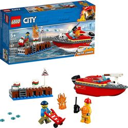 "LEGO City  ""Foc în port"", art. 60213"